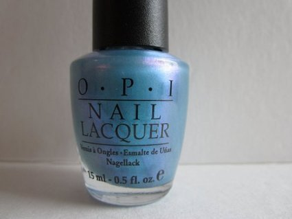 Review Nail Product Opi Greece Just Blue Me A