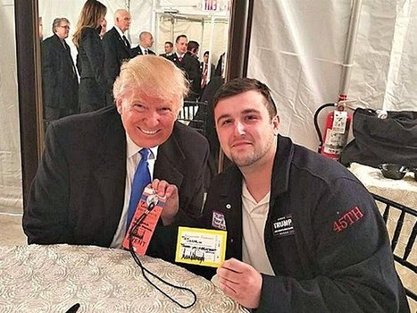 Trump Offers Father Down on His Luck $10,000 Check at Inaugural Event - Breitbart | THE MEGAPHONE | Scoop.it