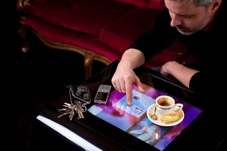 Interactive Coffee Table | Psssst.net