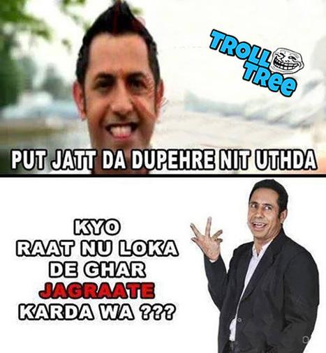 Gippy Grewal Funny Trolled By Binnu Dhillon Punjabi Funny Jokes Trolltree