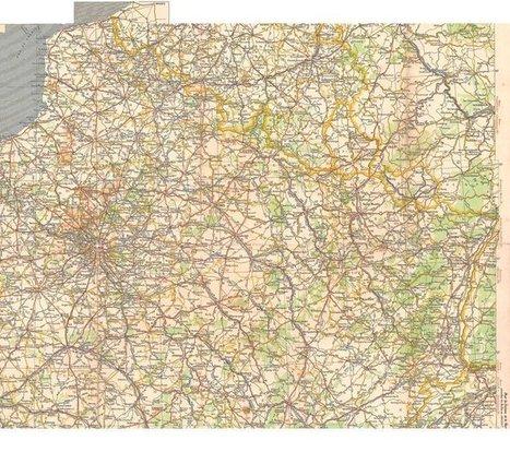 Cartographie 1914-1918 : Le front de l'ouest pendant la première guerre mondiale | La Grande Guerre | Scoop.it
