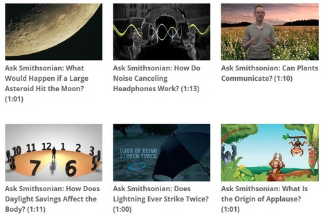 All Ask Smithsonian Videos - Quick Science Lessons | A Librarian Who Uses Technology to Support Instruction Designed For All Learners | Scoop.it