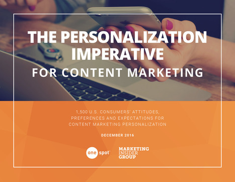 The Content Marketing Personalization Imperative   Ukr-Content-Curator   Scoop.it