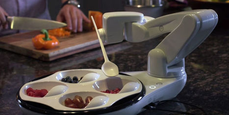 Obi, le premier robot qui sert les repas aux handicapés | Des robots et des drones | Scoop.it