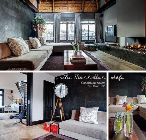 Sofa Manhattan Style Interior Design Ethni
