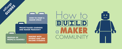 How to Build Your Makerspace (EdSurge Guides) | SLS Cool Tools | Scoop.it