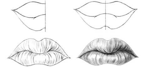 How To Draw Lips In Drawing And Painting Tutorials