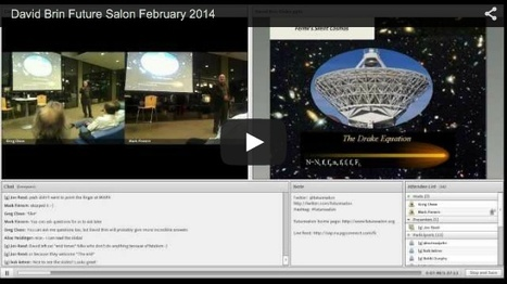 Future Salon with David Brin | Interviews with David Brin: Video and Audio | Scoop.it