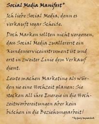 Das Social Media Manifesto von Gary Vaynerchuk | MEDIACLUB | Scoop.it