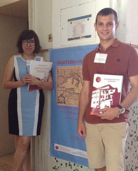 "Dolores Juan Moreno and Pau Cañigueral  participated in the  ""Conference at Sant'Anna: Mediterranean Visions"" in Sorrento, Italy 