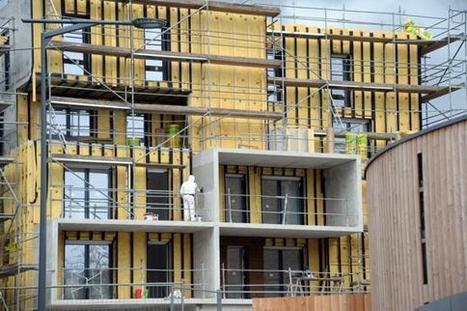 Logement : la baisse de la construction reste contenue mais s'accélère | Construction l'Information | Scoop.it