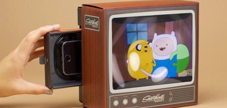 Cet accessoire transforme votre smartphone en télévision vintage | BIB on WEB | Scoop.it