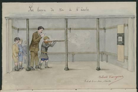 L'école et la mobilisation des enfants durant la première guerre mondiale - [Château des ducs de Bretagne]   Histoire 2 guerres   Scoop.it