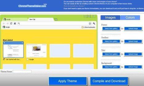 ChromeThemeMaker, crea tus propios temas para Chrome con esta utilidad web gratuita por @softapps | Las TIC y la Educación | Scoop.it