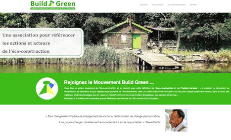 Rejoignez le mouvement Build Green -Fédération Nationale des Professionnels de l'Eco-Construction. | architecture..., Maisons bois & bioclimatiques | Scoop.it