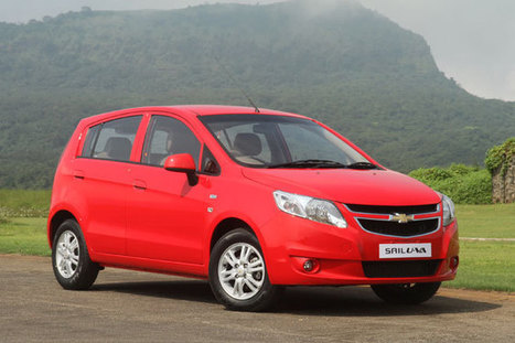 Chevrolet Sail UVA Launch Today   News   Scoop.it