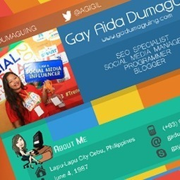 My Resume - New Web Design and the Infographic Version - Gay Aida Dumaguing | Business and Online | Scoop.it