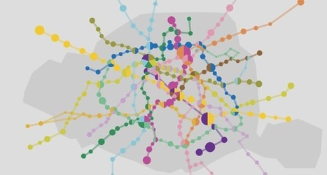 Stations désertes, températures : quand la RATP ouvre ses données | géographie, histoire, sciences sociales, développement durable | Scoop.it