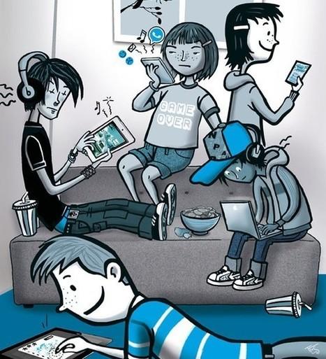 Problematisch gebruik van sociale media en games - Artikelen - 4W Weten Wat Werkt Waarom - Kennisnet   Onderwijs; Web 2.0 and gaming   Scoop.it