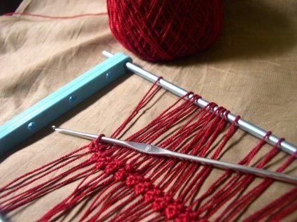 Working In Hairpin Lace Crochetology Cr