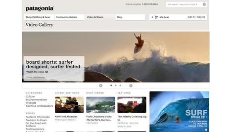 Patagonia | example of business doing video curation | Duct Tape Media | Scoop.it