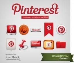 Des icônes gratuites pour Pinterest. | Les outils du Web 2.0 | Scoop.it