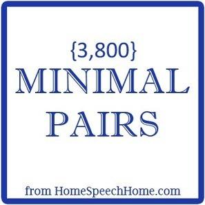 3800+ Minimal Pairs for Speech Therapy Practice   ESL Practice   Scoop.it