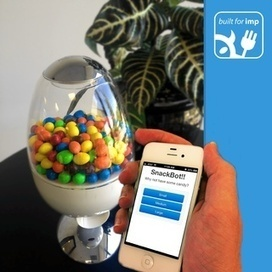 SnackBot: The Internet Connected Candy Machine!   Open Source Hardware News   Scoop.it