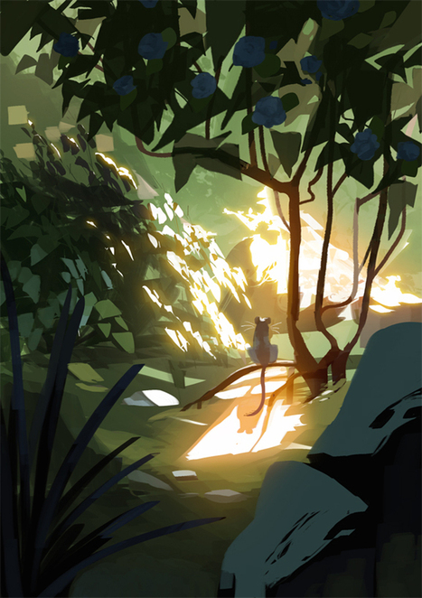 The Art Of Animation, Amei Zhao | Concept art, Painting & Illustration | Scoop.it