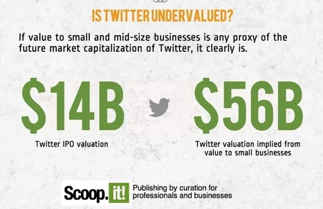Infographic: How Much Is Twitter Worth (to small and mid-size businesses)? | Marketing | Scoop.it