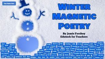 Winter Magnetic Poetry with Google Slides | 21st Century Technology Integration | Scoop.it