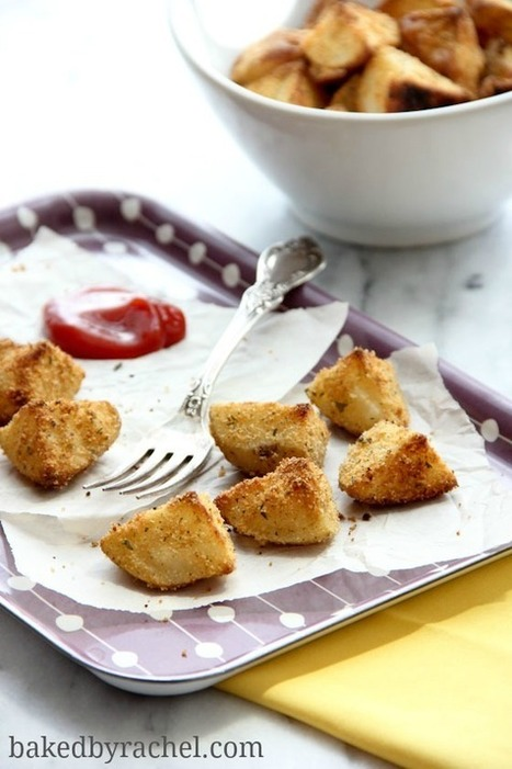 Parmesan Roasted Potatoes | Baked by Rachel | À Catanada na Cozinha Magazine | Scoop.it