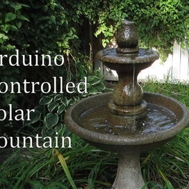 Arduino Controlled Solar Fountain | Arduino in the Classroom | Scoop.it