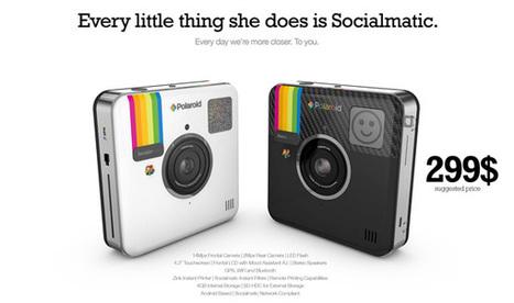 L'appareil Polaroid Instagram va être lancé à 299 dollars | Médias sociaux et tout ça | Scoop.it