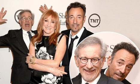 Steven Spielberg and Bruce Springsteen photobomb each other - Daily Mail | Bruce Springsteen | Scoop.it