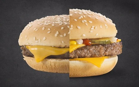 How McDonald's uses Photoshop to touch up their menu burgers - Telegraph | Remake | Scoop.it