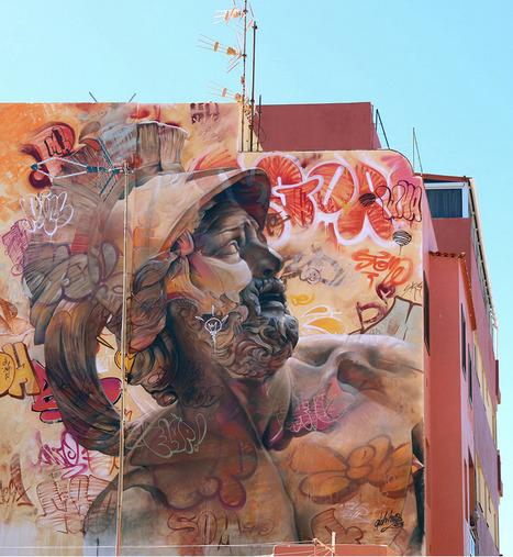 PichiAvo graffiti studio | PichiAvo – Art, design, graffiti | Art for art's sake... | Scoop.it