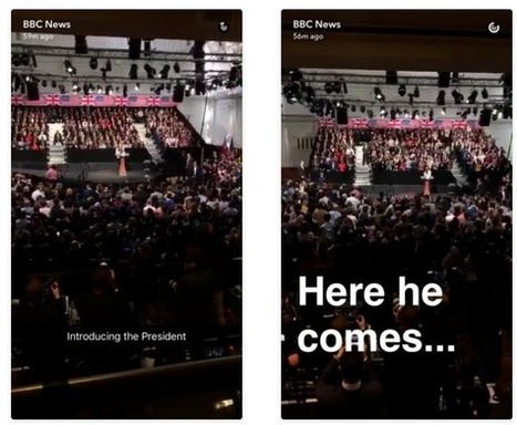 Snapchat for journalists: a great big guide | Webortash | Scoop.it