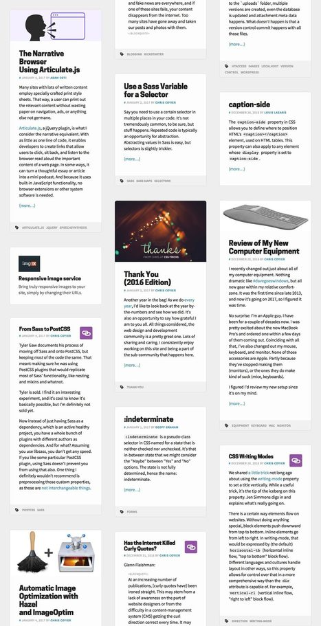 Redesign v15 Notes | CSS-Tricks | Web Increase | Scoop.it