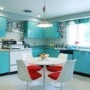 How to Create a Retro Kitchen Design | Home Sweet Home | Vintage Kitchens | Scoop.it