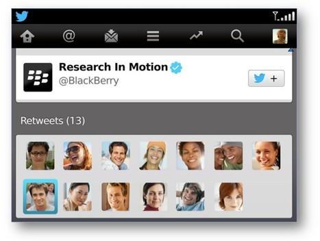 Twitter si aggiorna su BlackBerry: arriva l'anteprima di foto e link - HDblog (Blog) | Nico Social News | Scoop.it