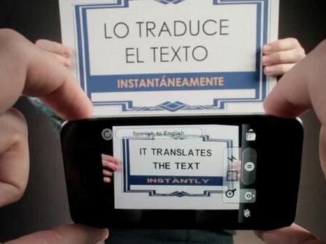 Google compra 'app' que traduce textos impresos con la mirada | Apropiación Tecnológica - Usabilidad y Resistencia | Scoop.it