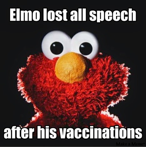 Adventures in Autism: Surgeon General Uses Elmo to Sell Vaccines to Minors | NEWS HAPPENINGS AROUND THE WORLD | Scoop.it
