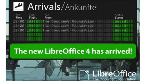 LibreOffice 4.0, nuova release open source sviluppata dalla comunità | Software, tools & website | Scoop.it