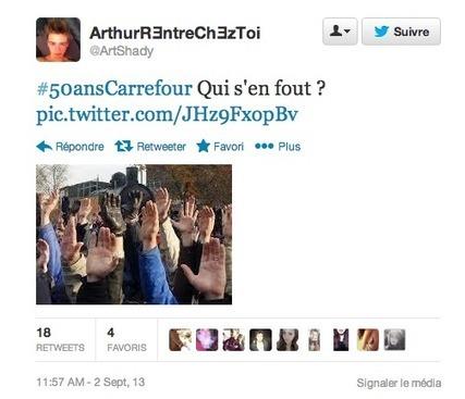 Carrefour + Twitter = une visibilité achetée qui fait fuir les internautes | Réseaux Sociaux | E-marketing | Scoop.it