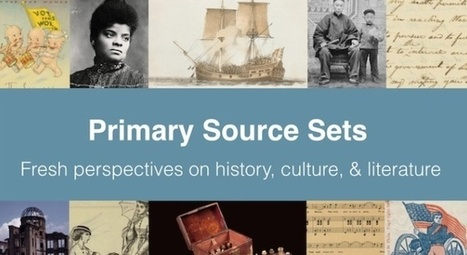 Primary Source Sets from DPLA | Informed Teacher Librarianship | Scoop.it