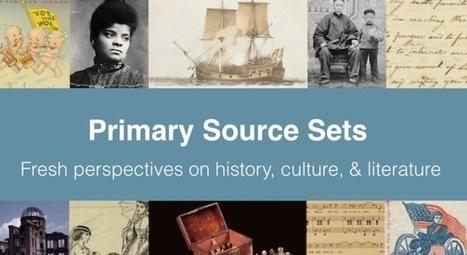 Primary Source Sets from DPLA | Informed Teacher Librarianship | Scoop.it