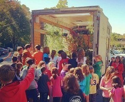 Compass Green: Sustainability Classroom on Wheels | Arrival Cities | Scoop.it