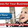 Convenience of Voice over Artists