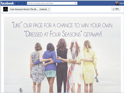 How Four Seasons is Leveraging Bloggers & Retail for Facebook Success -Case Study | Tourism Social Media | Scoop.it